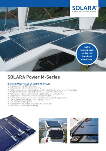 SOLARA POWER M-Series