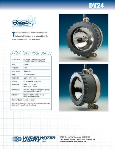 Deck Vision DK24 Submersible Halogen Light