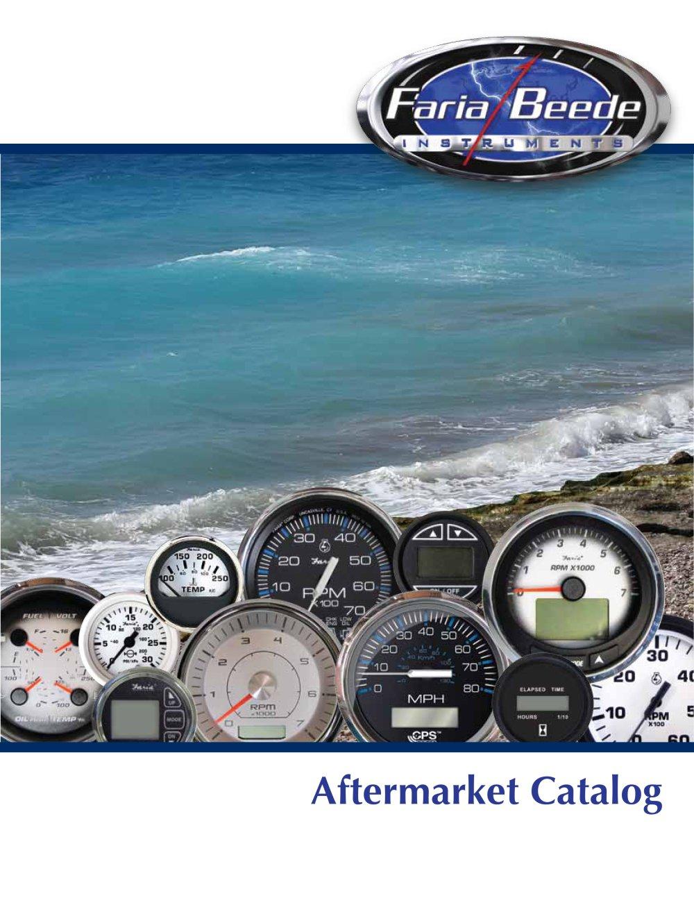 Faria Marine Gauges Wiring Diagram Instruments Aftermarket Catalog Pdf 1000x1294