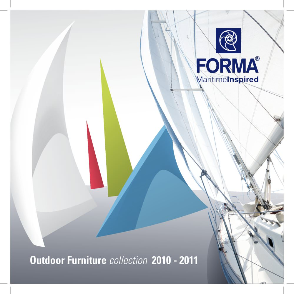 FORMA Furniture Maritime Inspired Catalogue   1 / 10 Pages