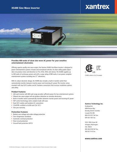 XS400 Sine Wave Inverter