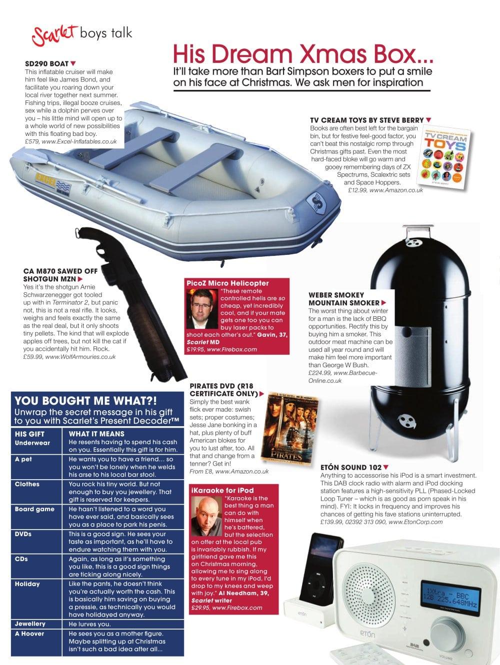His Dream Xmas Box Excel Inflatables Pdf Catalogues