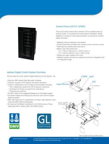 Control Panel (CP375, CP600)