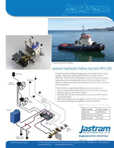 Hydraulic Follow-Up Unit HFU 220