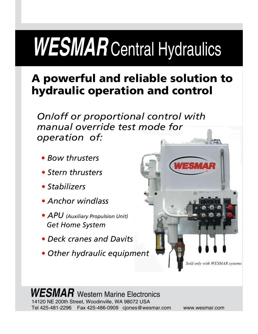 hydraulic 20brochure08pdf 30060_1b hydraulic brochure08 pdf wesmar pdf catalogues Wesmar Bow Thruster Schematics at honlapkeszites.co