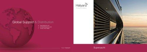 Superyacht Brochure