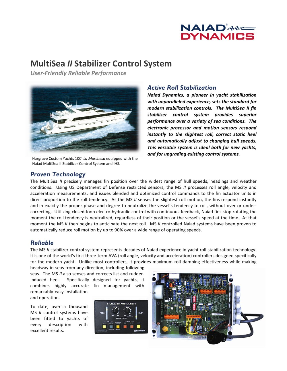 ontrol systems yachts