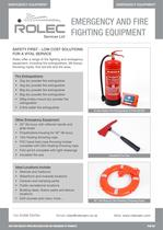 Emergency and Fire Fighting Equipment
