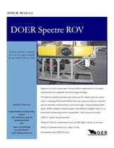 DOER Spectre ROV