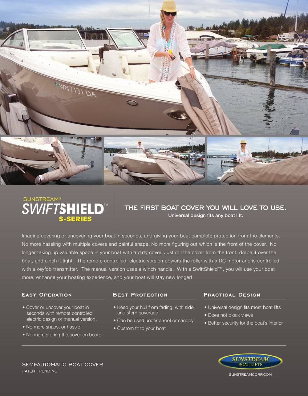SwiftShield S-Series Sales Sheet - 1 / 2 Pages