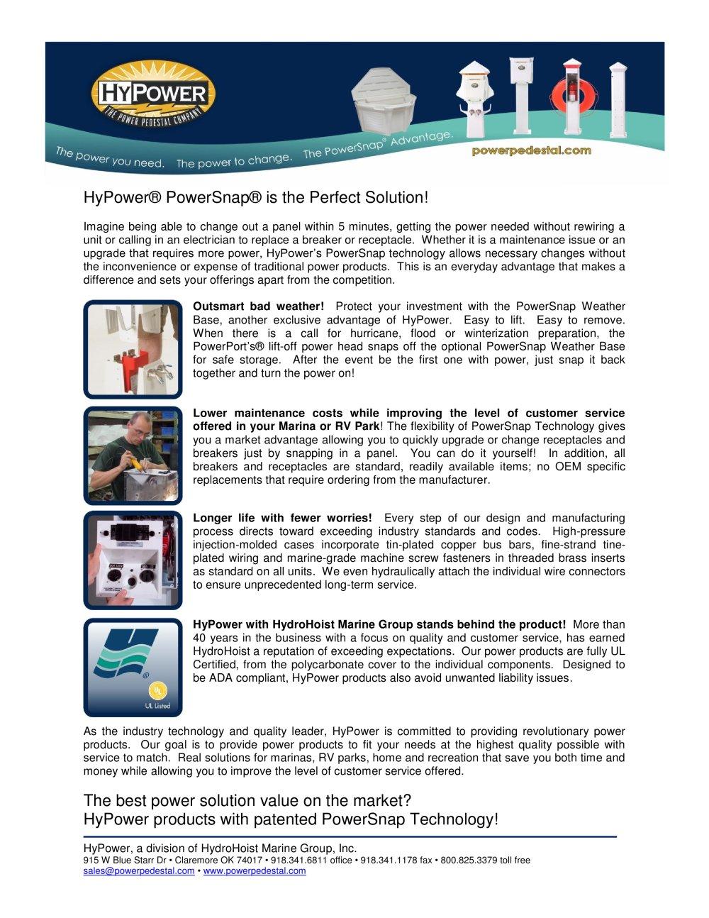 HyPower® PowerSnap® Advantages - HyPower - PDF Catalogues ...