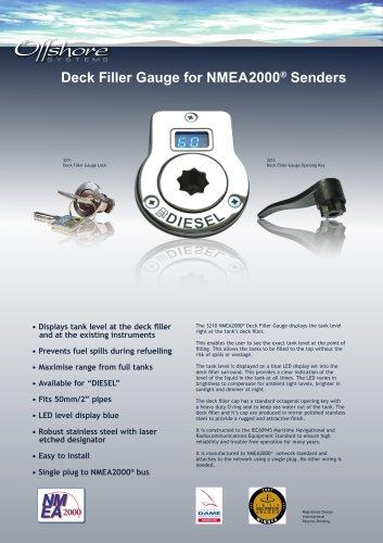 Deck Filler Gauge for NMEA2000® Senders