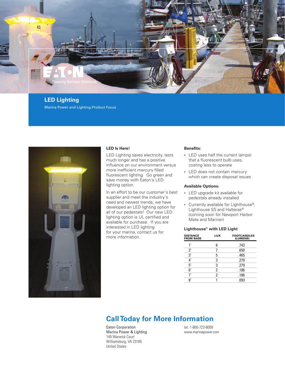 led lighting eaton pdf catalogues documentation boating