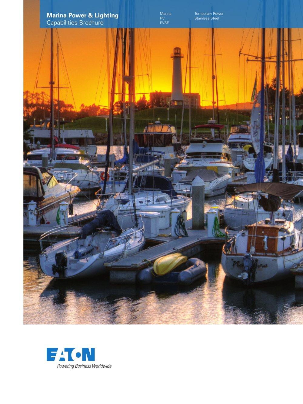 marina power and lighting capabilities brochure eaton pdf