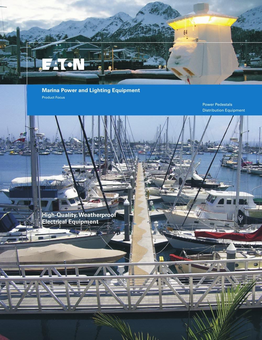 marina power and lighting equipment eaton pdf catalogues