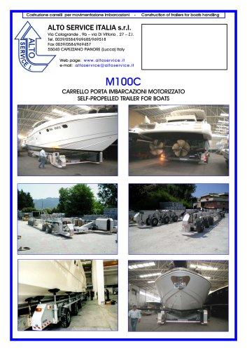 SELF PROPELLED BOAT TRAILER M100C