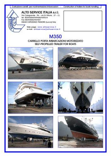 SELF PROPELLED BOAT TRAILER M350