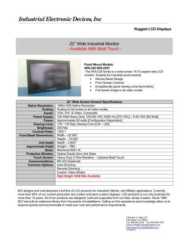 IWS-220 IWS-220T