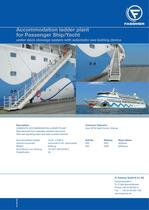 Accommodation ladder plant for Passenger Ship/Yacht