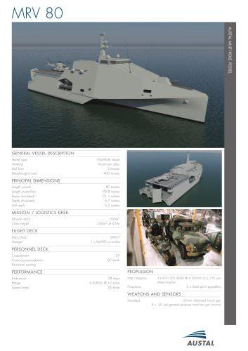 Austal Multi-Role Vessel
