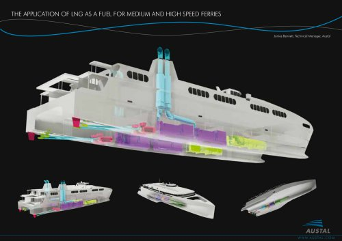 LNG powered Ferry