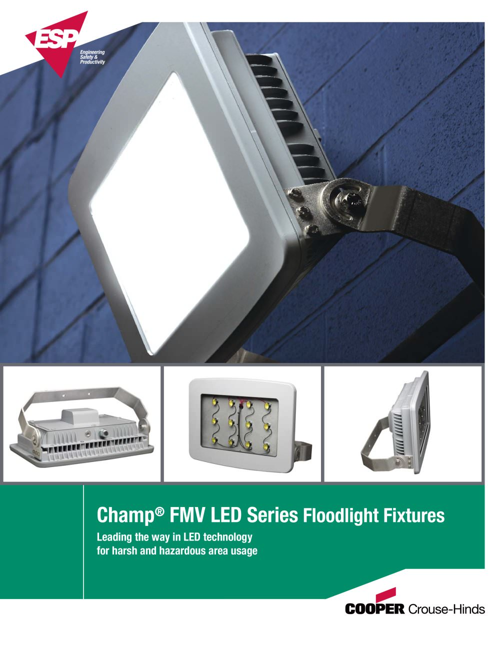 LED Floodlight Brochure - 1 / 8 Pages  sc 1 st  Catalogues Nauticexpo & LED Floodlight Brochure - Cooper Crouse-Hinds Pauluhn - PDF ... azcodes.com