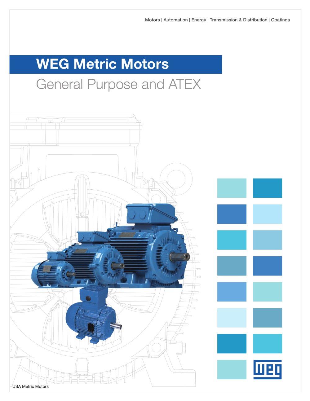 WEG Metric Motors - General Purpose and ATEX - Weg Electric Motors ...