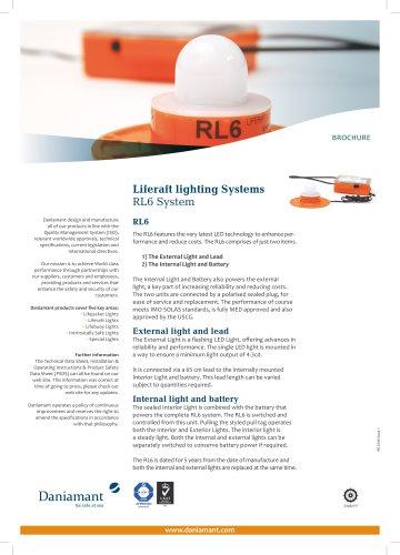 Liferaft lighting Systems RL6 System