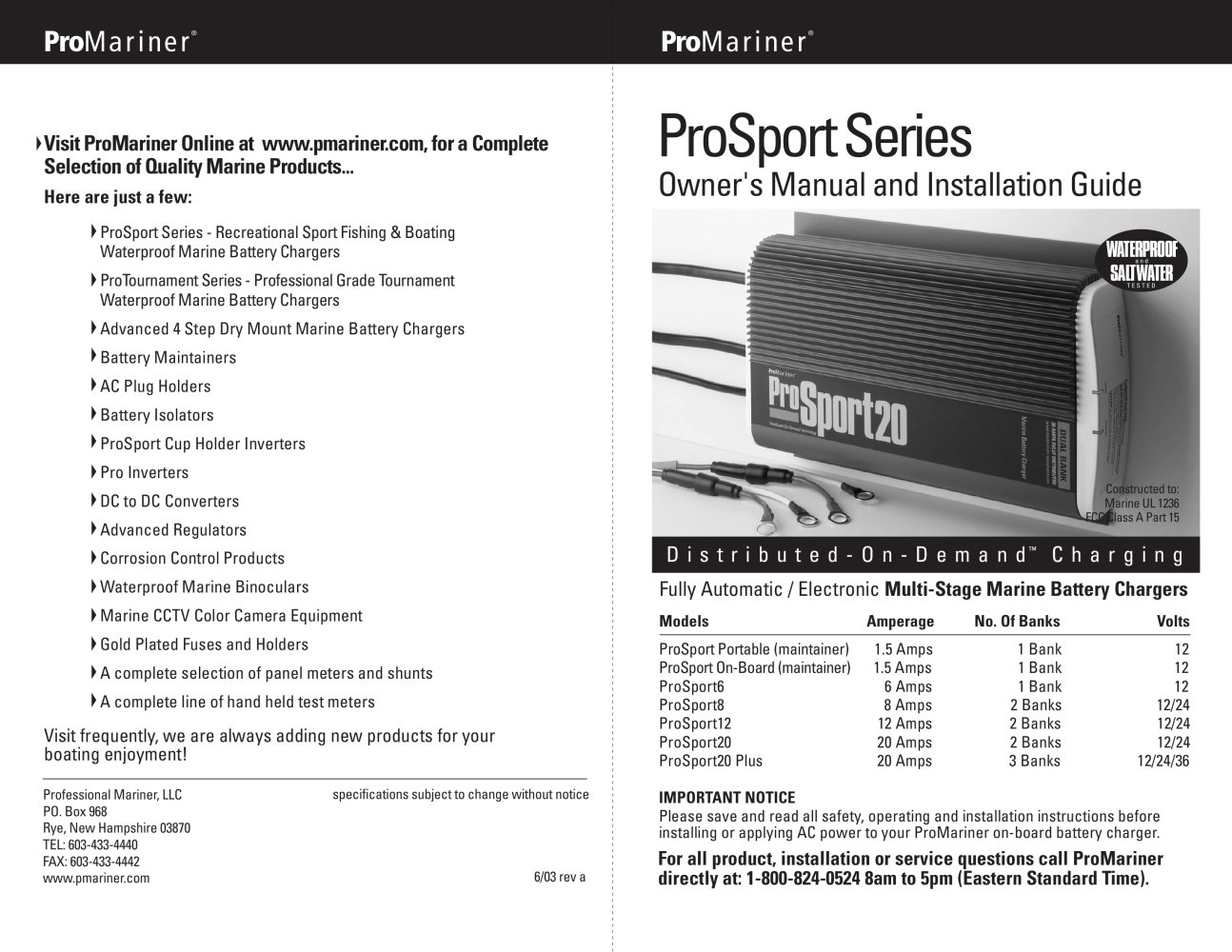 Miraculous Prosport Series Professional Mariner Pdf Catalogs Wiring 101 Akebwellnesstrialsorg