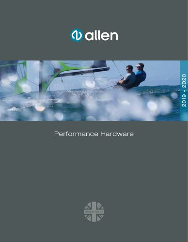 Allen Performance Catalogue
