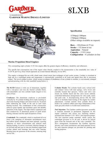 Gardner 8LXB engine