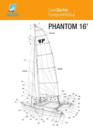 phantom 16'
