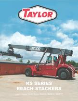 RS Series Reach Stacker