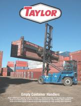 TECSP-155HD thru 157/8 Series Empty Container Handlers Brochure