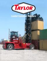THDC Series Loaded Container Handlers