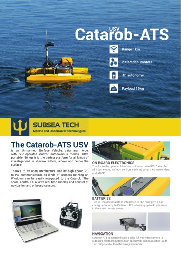 Surface drone Catarob-ATS-03