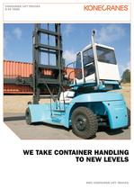 CONTAINER LIFT TRUCKS