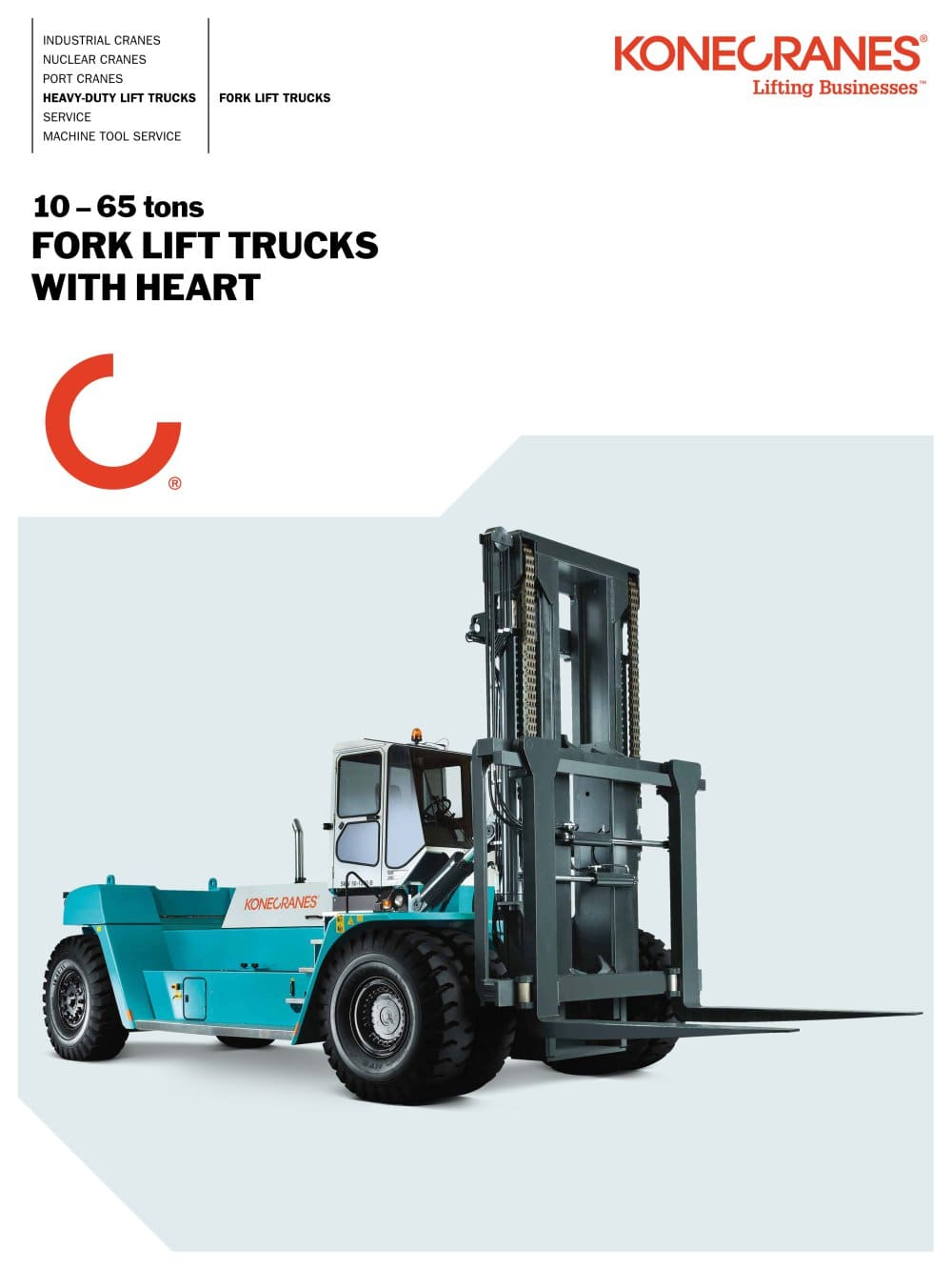 Select location type business with dock or forklift business without - Konecranes Fork Lift Truck Brochure 1 24 Pages