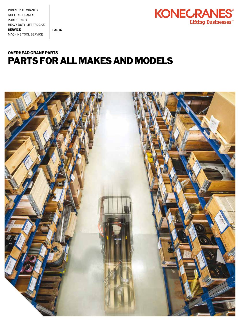 Parts For All Makes And Models Konecranes Pdf Catalogues Workstation Cranes Overhead Work Station Crane Ase Systems 1 5 Pages