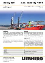 Job Report : Heavy lift PDF