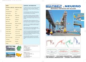 MULTIBELT - Mechanical Continuous Shipunloader