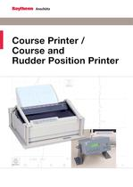 Course Printer / Course and Rudder Position Printer