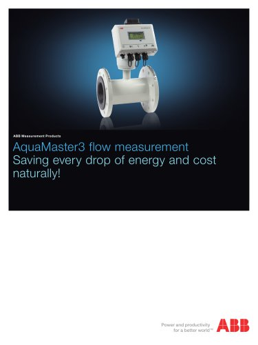 AquaMaster 3 flow measurement