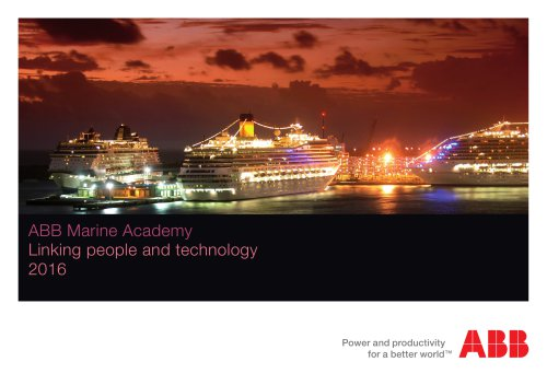 PDF ABB Marine Academy course catalogue 2016