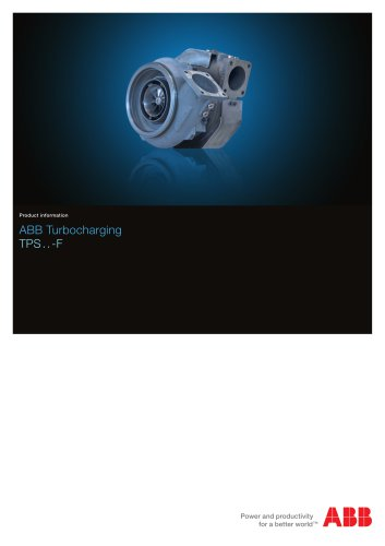 TPS-F turbocharger