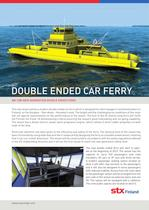 DOUBLE ENDED CAR FERRY