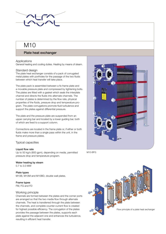 Plate Heat Exchanger Alfa Laval Mid Europe Pdf Catalogs