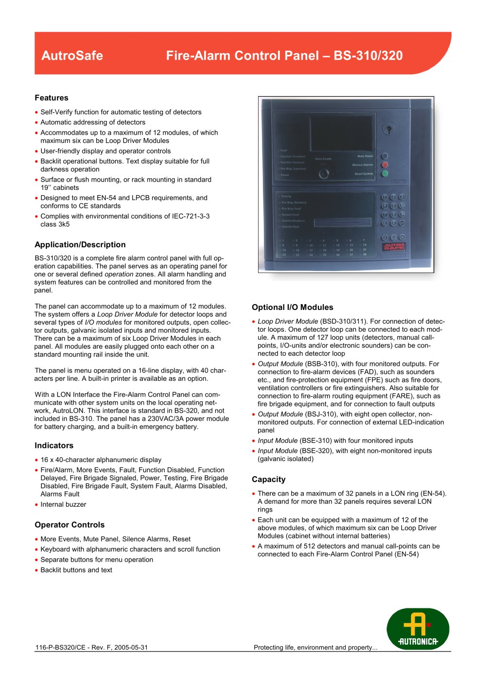 sil2 - Autronica Fire and Security - PDF Catalogues | Documentation ...