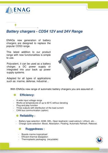 CDS4 range – 12/24V - ENAG - PDF Catalogs | Documentation | Boating