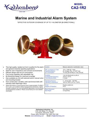 CA2-1R2 Industrial Air Horn